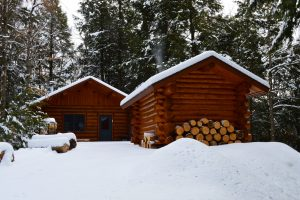 Log Cabin - Remote Small Cabin