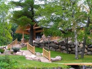 Woodland Logcrafters - Log Cabin