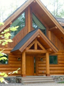 Woodland Logcrafters - Wooden Home