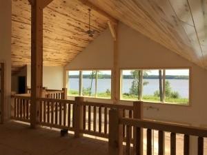Hybrid Timber Lake Cabin