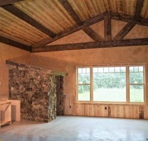 Hybrid Timber Stone Bathroom